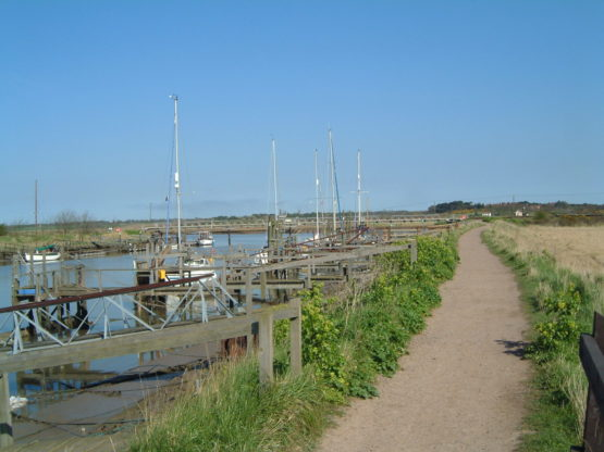 Path by the River Blyth