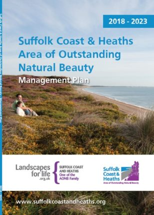 Front cover of Suffolk Coast & Heaths Area of Outstanding Natural Beauty Management Plan