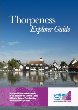 Front cover of Thorpeness Explorer Guide