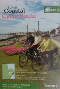 Front cover of Suffolk Coastal Cycle route