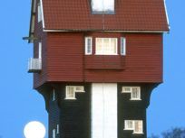 View of House in the Clouds