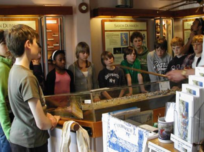 Group of kids at Dunwich museum