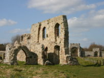 View of Dunwich Greyfriars