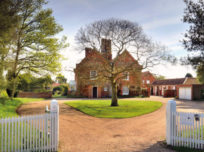 View of Red House in Aldeburgh
